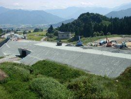 八箇峠トンネル(南魚沼工区)②