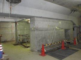 発電所 基礎改良工事①