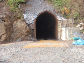 糸魚川水路トンネル